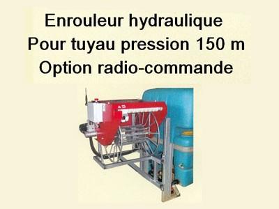 Tuyau enrouleur hydraulique