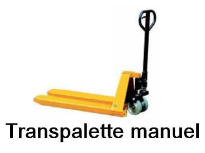 Transpalette manuel