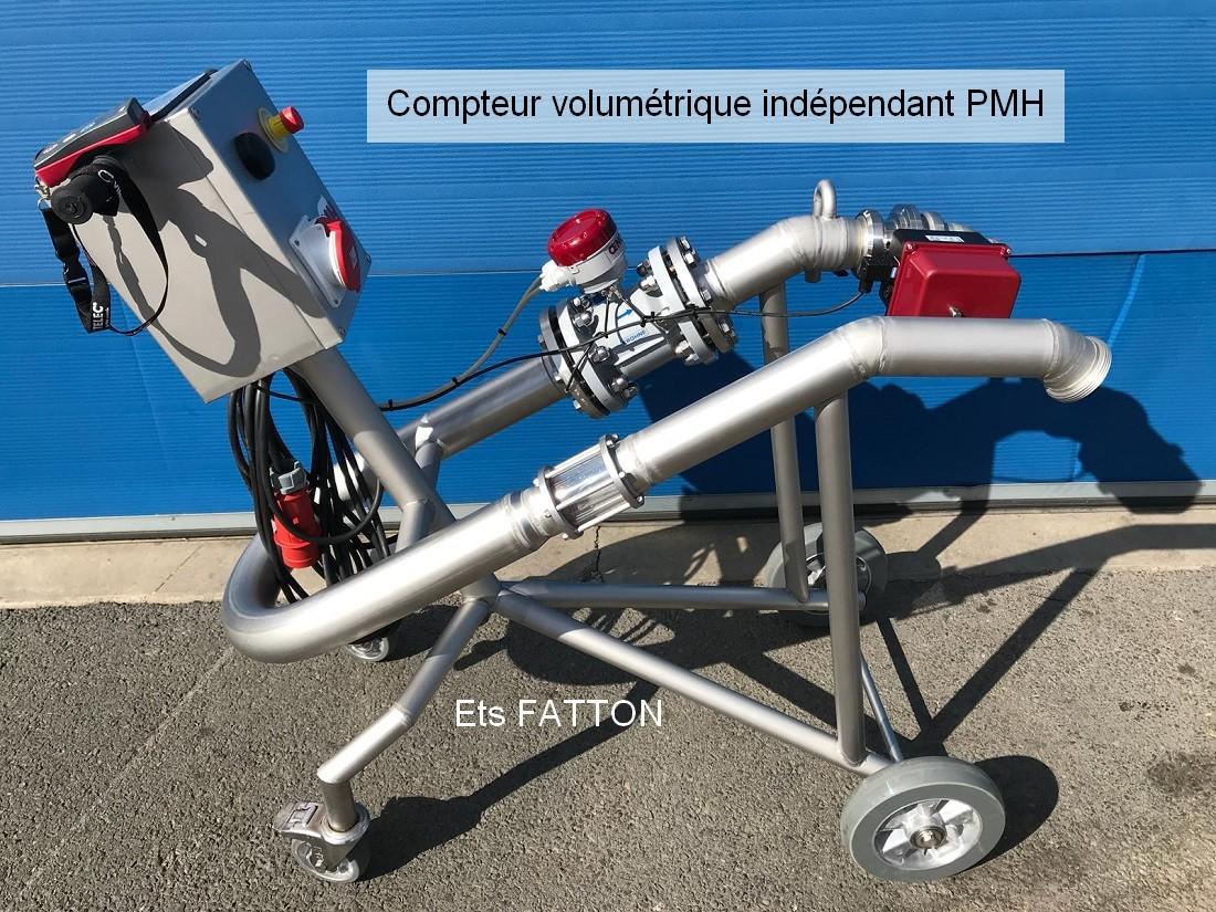 Compteur volumétrique indépendant PMH
