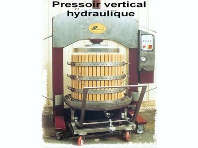 Pressoir vertical hydraulique