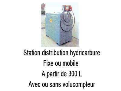 Station distribution hydrocarbure