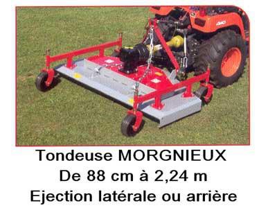 Tondeuse MORGNIEUX