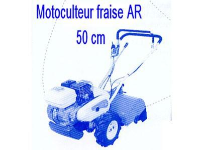 Motoculteur fraise AR 50 cm