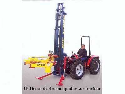 Lieuse d'arbre adaptable sur tracteur