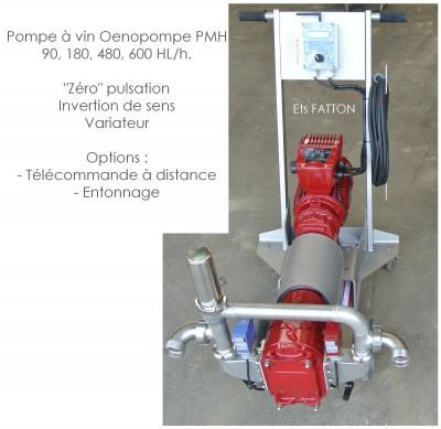 Pompe à vin Oenopompe PMH