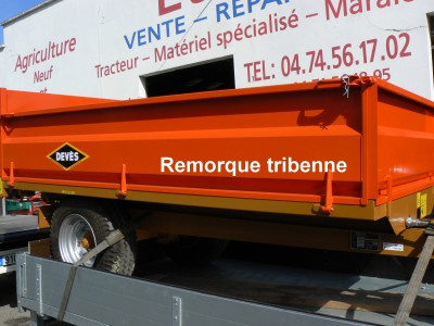 Remorque tribenne