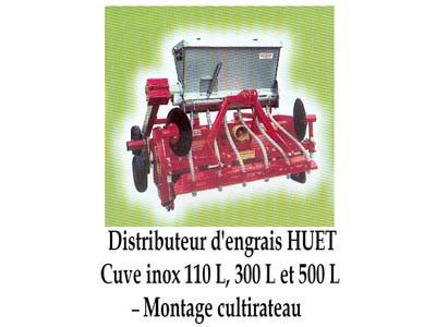 Distributeur d'engrais HUET