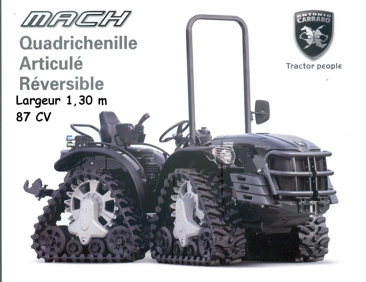 Tracteur CARRARO MACH 4