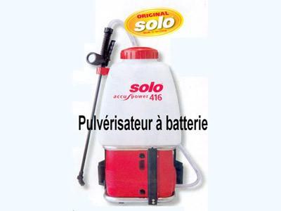 Pulvérisateur à batterie SOLO