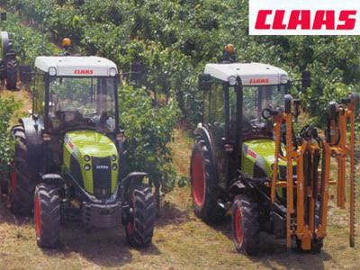 Tracteur CLAAS