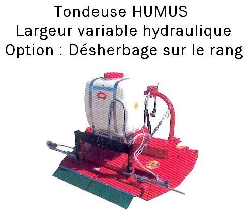 Tondeuse HUMUS
