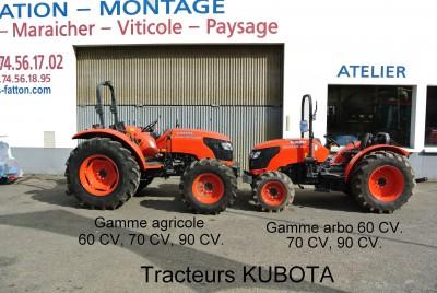Tracteurs KUBOTA