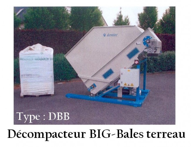 Décompacteur BIG-Bales terreau
