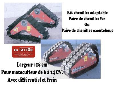 Kit chenilles adaptable