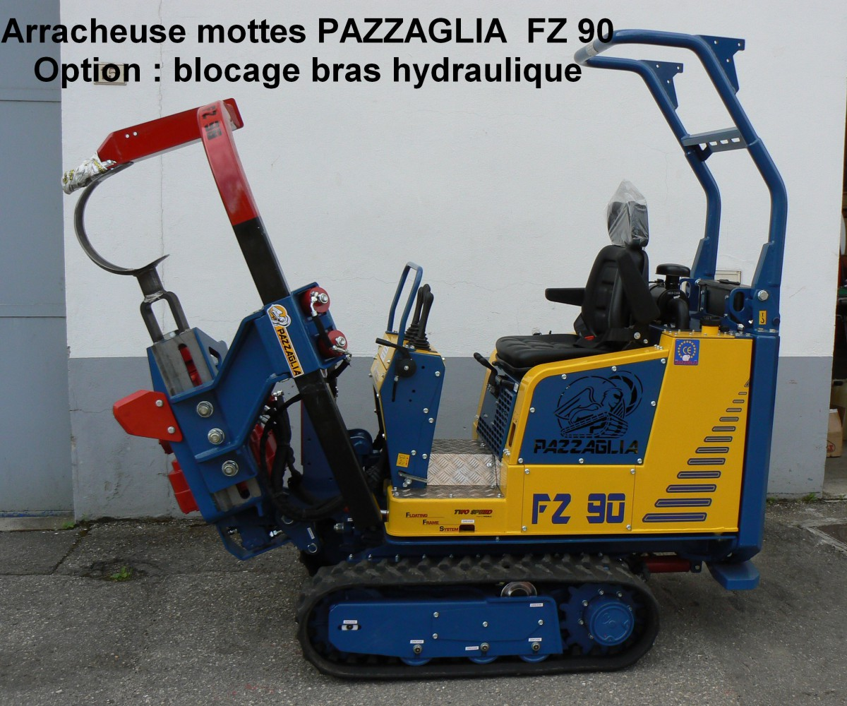 Arracheuse mottes PAZZAGLIA FZ90