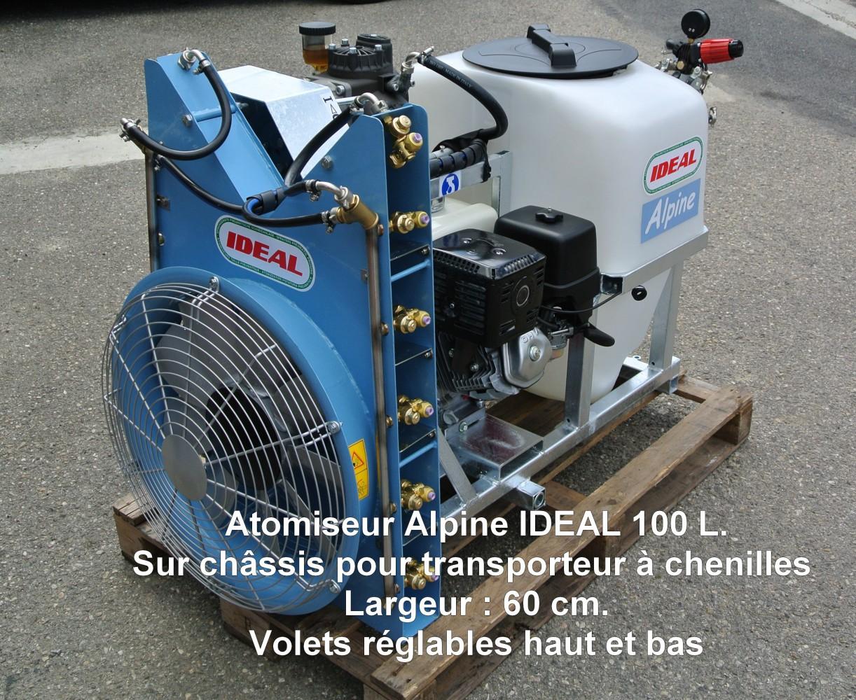 Atomiseur Alpine IDEAL 100 L.