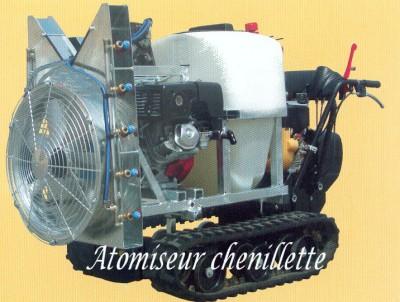 Atomiseur chenillette