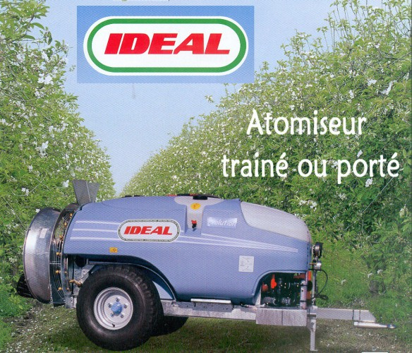 Atomiseur IDEAL trainé ou porté