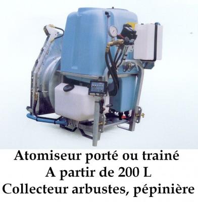Atomiseur porté ou trainé