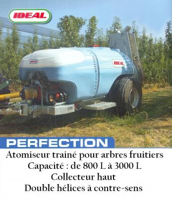 Atomiseur trainé pour arbres fruitiers