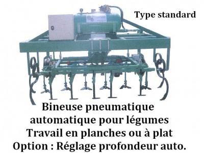 Bineuse pneumatique type standard