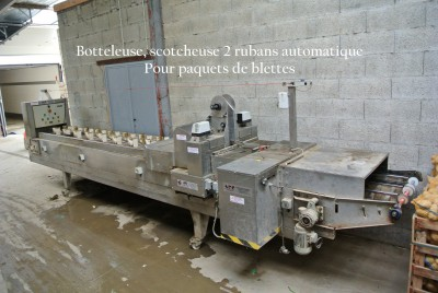 Botteleuse, scotcheuse automatique