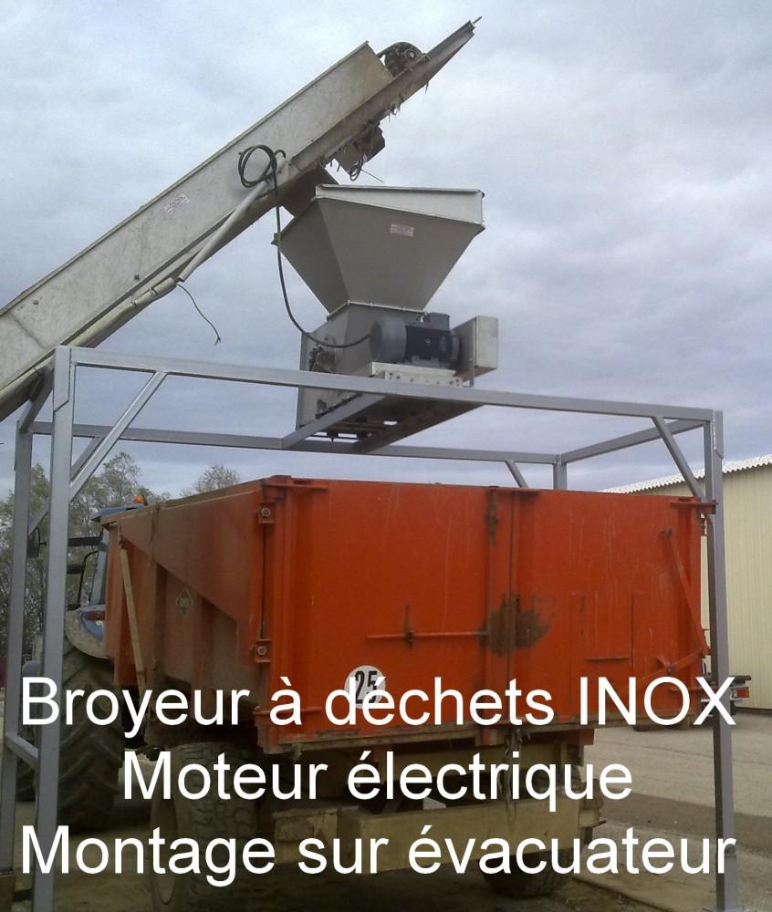 Broyeur à déchets INOX