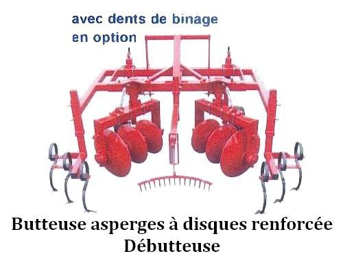 Butteuse asperges / Débutteuse