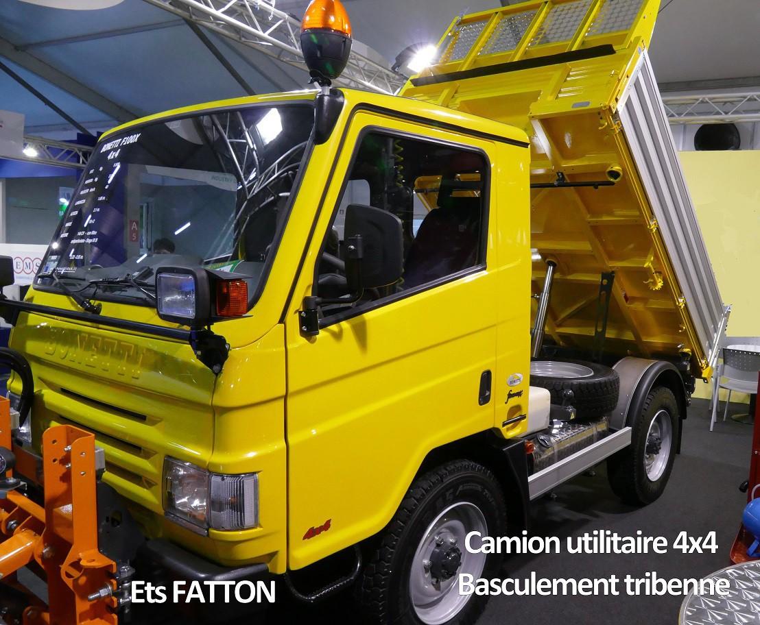 Camion utilitaire 4x4 pour collectivités