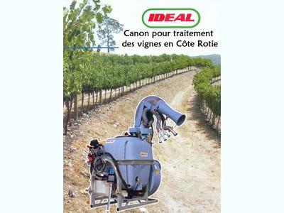 Canon pour traitement des vignes