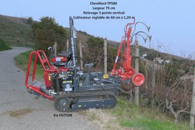 Chenillard TP580