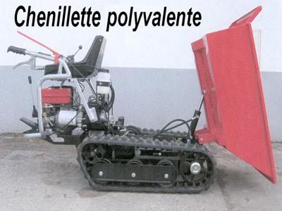 Chenillette polyvalente