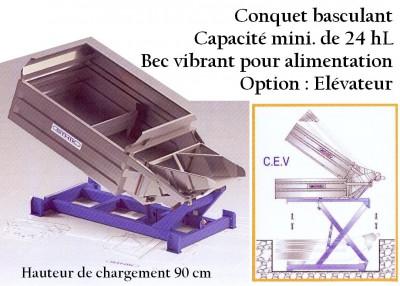 Conquet basculant