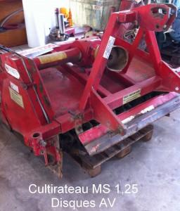 Cultirateau SIMON M145