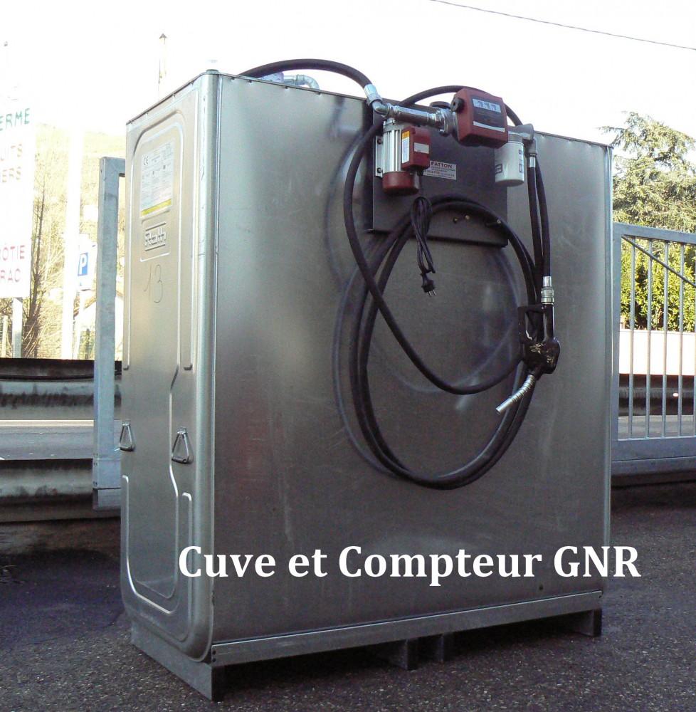 Cuve et compteur GNR
