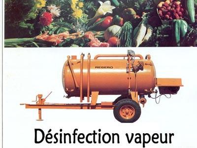 Désinfection vapeur REGERO