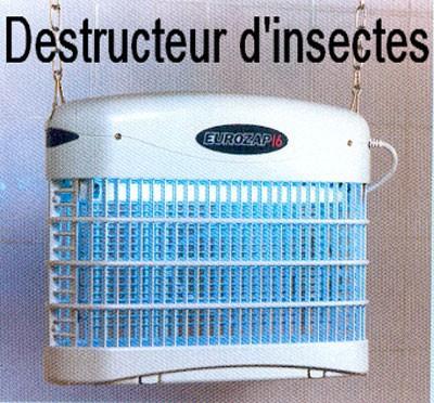 Destructeur d'insectes