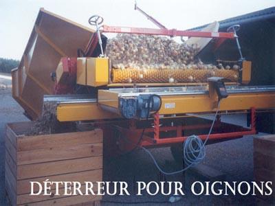 Déterreur pour oignons