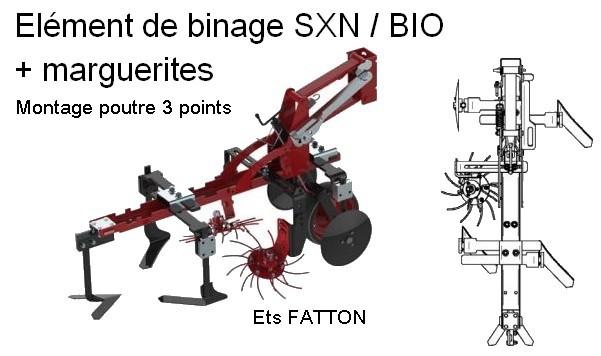 Elément de binage SXN / BIO + marguerites