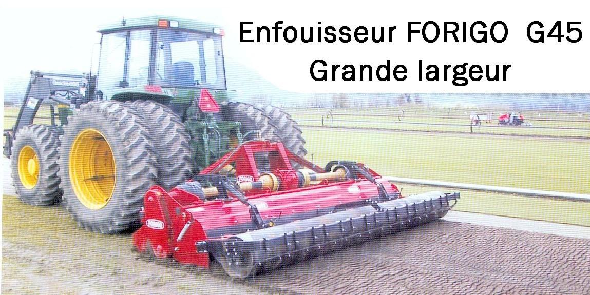 FORIGO Enfouisseur G45