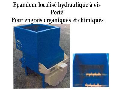 Epandeur localisé hydraulique