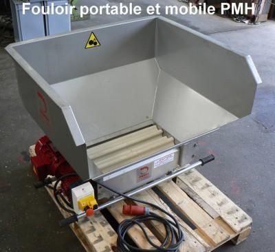 Fouloir portable et mobile PMH