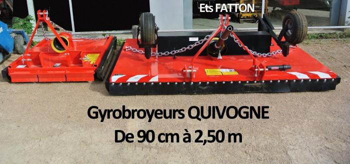 Gyrobroyeurs QUIVOGNE
