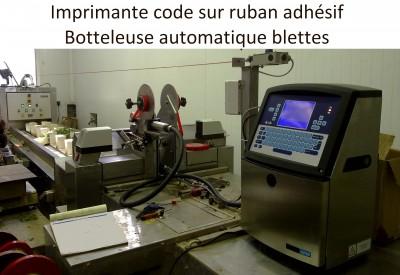 Imprimante code sur ruban adhésif