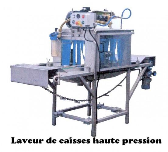 Laveur de caisses haute pression