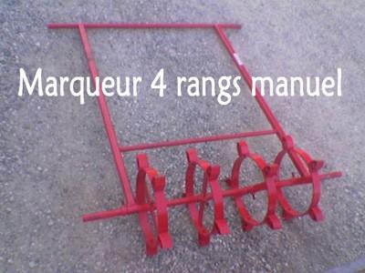 Marqueur 4 rangs manuel