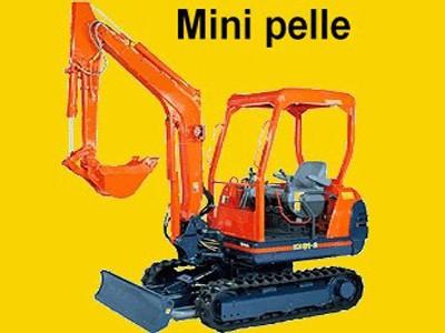 Mini-pelle