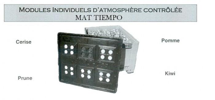 Modules individuels d'atmosphère contrôlée MAT TIEMPO