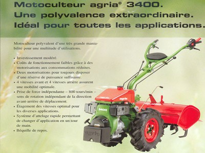 Motoculteur AGRIA