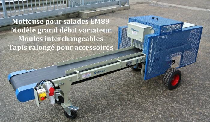 Motteuse pour salades EM89